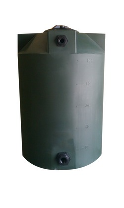 100 Gallon Poly-Mart Plastic Water Storage Tank