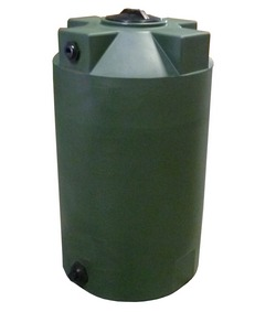 125 Gallon Bushman (Formerly Poly-Mart) Plastic Water Storage Tank