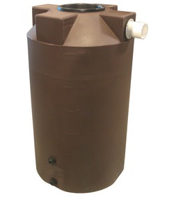 125 Gallon Bushman (Formerly Poly-Mart) Rain Harvesting Tank