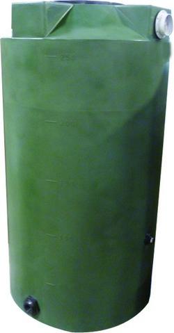 250 Gallon Dark Green Rain Harvest Tank