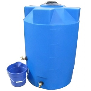 100 Gallon Poly-Mart Emergency Water Storage Tank