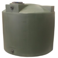 1000 Gallon Poly-Mart Plastic Water Storage Tank