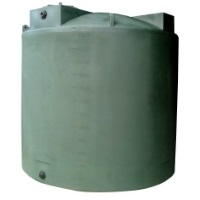 2500 Gallon Poly-Mart Plastic Water Storage Tank