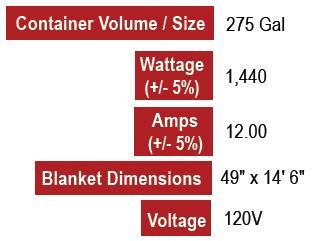275 Gallon Tote Heater