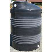 500 Gallon Black Plastic Water Storage Tank
