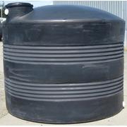 2500 Gallon Black Plastic Water Storage Tank