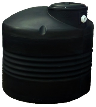 300 Gallon Black Plastic Water Storage Tank  sc 1 st  Plastic-Mart.com : black water storage tanks  - Aquiesqueretaro.Com