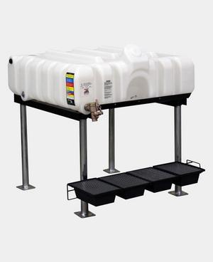 Rhino Tuff Tanks 45 Horizontal Complete Gravity Feed System