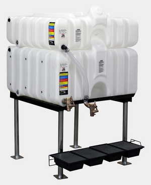Rhino Tuff Tanks 45/80 Complete Gravity Feed System