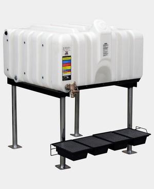 Rhino Tuff Tanks 80 Complete Gravity Feed System