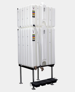Rhino Tuff Tanks 120/225 Complete Gravity Feed System