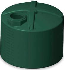 1600 Gallon Rotoplas Tri-Layer AquaTech Water Storage Tank | Note: (Only Green Ships In 48 Hours)
