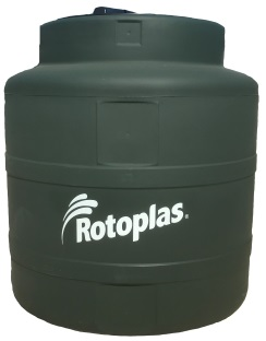 200 Gallon Rotoplas Tri-Layer AquaTech Water Storage Tank | Note: (Only Green Ships In 48 Hours)