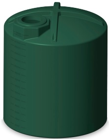 3000 Gallon Rotoplas Tri-Layer AquaTech Water Storage Tank | Note: (Only Green Ships In 48 Hours)