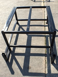 Steel Stand for 220 Gallon Tank