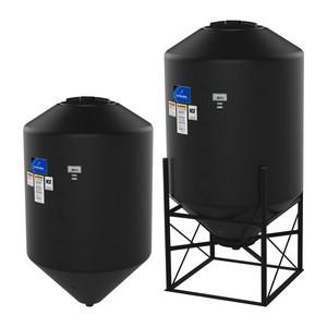 4100 Gallon Snyder Cone Bottom Tank - Black
