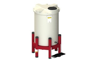"""500 Cylindrical Gravity Feed System 60"""""""