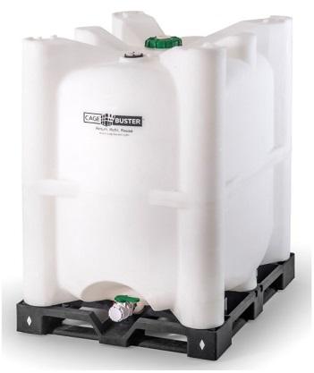330 Gallon CageBuster IBC