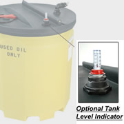 Optional Level Gauge for 120 Gallon Waste Oil Tank