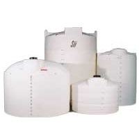1400 Gallon Snyder Vertical Poly Tank (Commercial Grade 1.5 Specific Gravity)