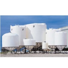 2600 Gallon Snyder Industries Cone Bottom Tank