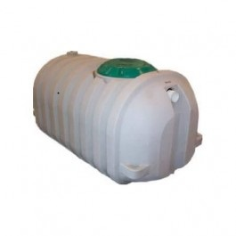 500 Gallon Snyder 1 Compartment /1 Manholes Septic Tank - Preplumbed