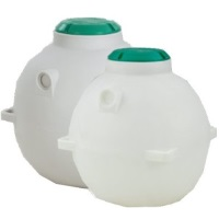 325 Gallon Underground Water Cistern Storage Tank