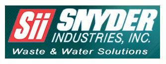 snyder water storage tanks