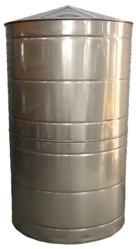 400 Gallon Stainless Steel Rain Water Tank