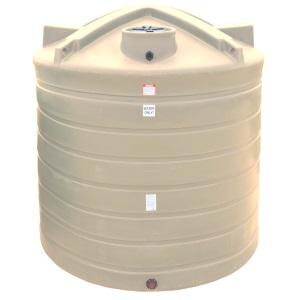 2710 Gallon Beige Plastic Water Storage Tank