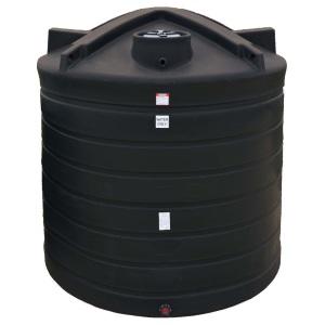 2710 Gallon Black Plastic Water Storage Tank