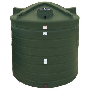 2710 Gallon Mist Green Plastic Water Storage Tank