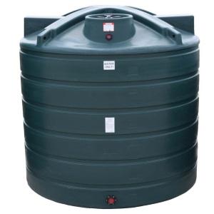 5050 Gallon Green Plastic Water Storage Tank
