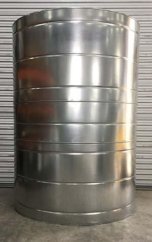 1000 Gallon Galvanized Rain Water Tank