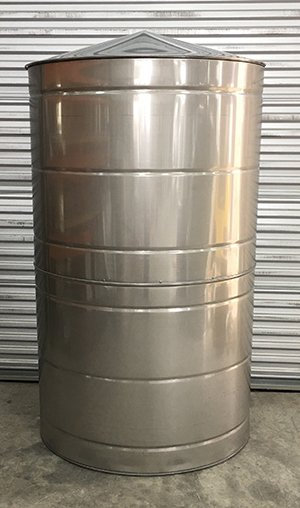 400 Gallon Galvanized Rain Water Tank