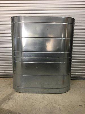 467 Gallon Stainless Steel Slimline Rainwater Tank
