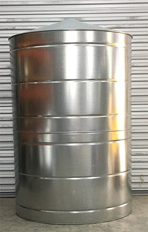 500 Gallon Galvanized Rain Water Tank