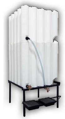 240 and 180 Gallon Tote-A-Lube Tank System (2 Tanks)
