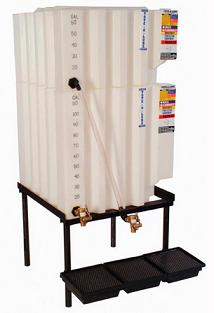 240 Gallon Tote-A-Lube / Fluidall Lube Oil Tank System (Tank Only)