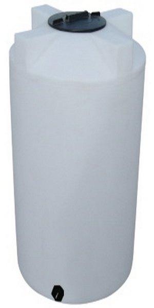 """250 Gallon Valor Plastics Vertical Liquid Storage Tank 35"""" dia"""