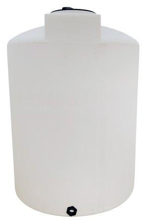 """1500 Gallon Valor Plastics Vertical Liquid Storage Tank 64"""" dia"""
