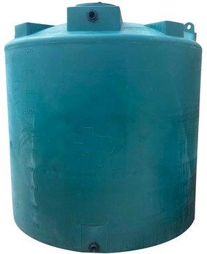 2500 Gallon Valor Plastics Vertical Water Tank