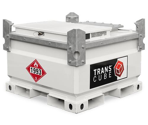 Transcube Diesel Fuel Tank, 132 Gallon, 11 Gauge Steel