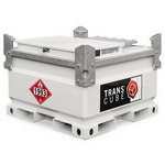 Transcube Diesel Fuel Tank, 132 Gallon, 11 Gauge Steel