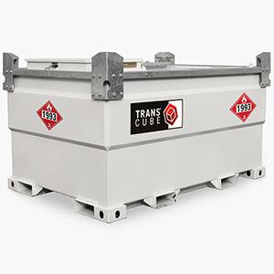 Transcube Diesel Fuel Tank, 787 Gallons, 11 Gauge Steel