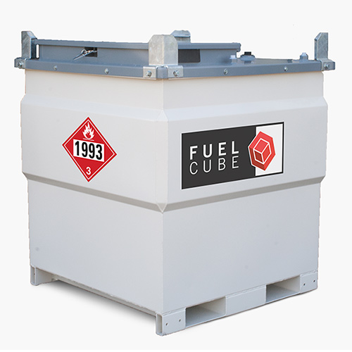 FuelCube Double Walled Stationary Steel Fuel Tank - 250 Gallons