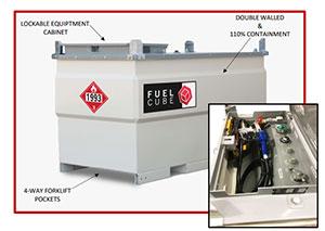 500 Gallon FUELCUBE Tank Kit