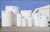 vertical ferric chloride tanks