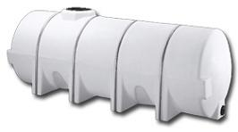 horizontal poly tanks