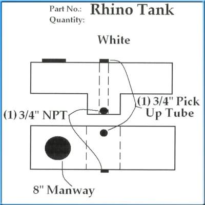 Rhino ATV Water Tank